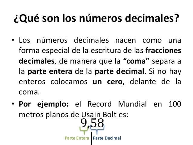 Los números decimales: una breve introducción Slide 3