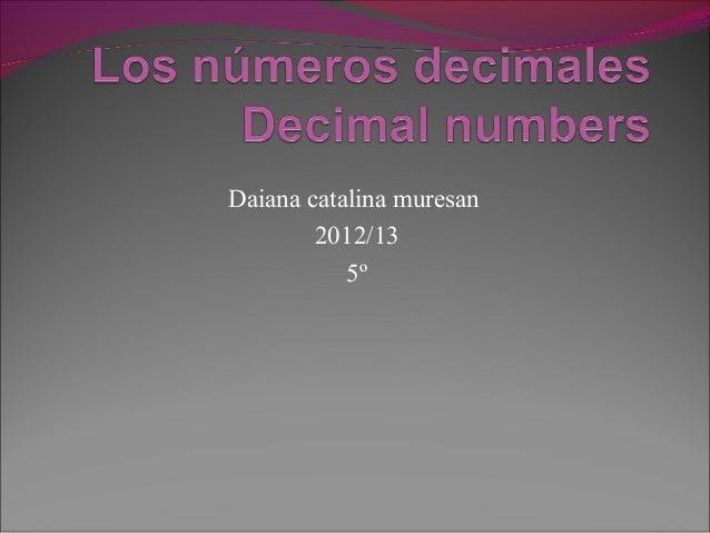 Daiana catalina muresan        2012/13           5º