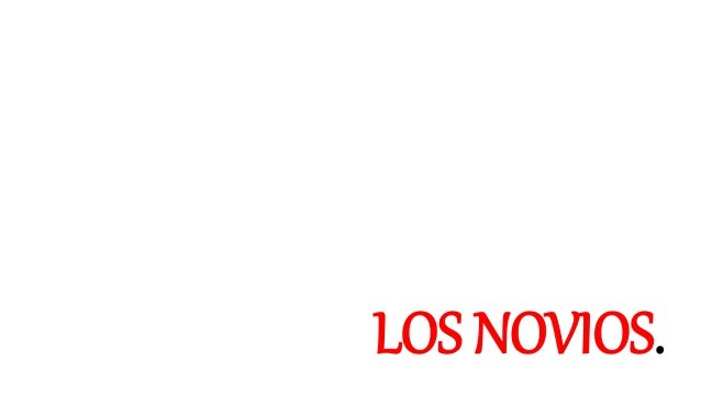 LOS NOVIOS.
