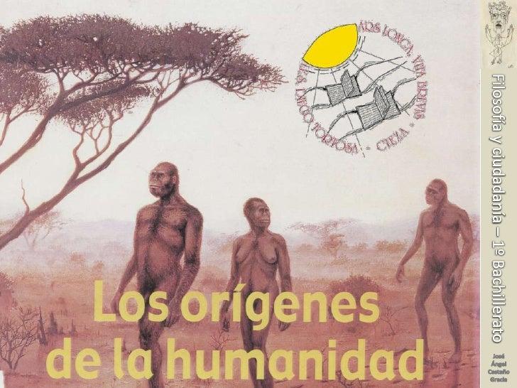 Filosofía y ciudadanía – 1º Bachillerato<br />José Ángel Castaño Gracia<br />