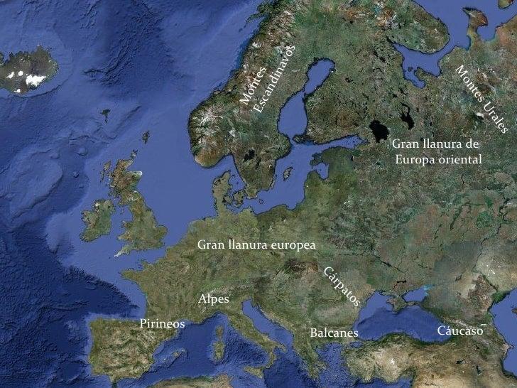 Los paisajes de europa y los de españa Slide 2