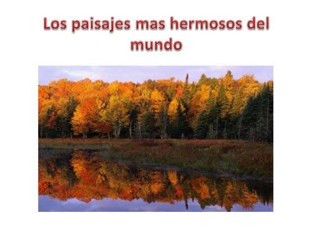Los paisajes mas hermosos del mundo - Los salones mas bonitos ...