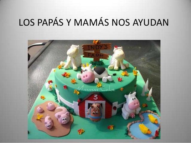 LOS PAPÁS Y MAMÁS NOS AYUDAN