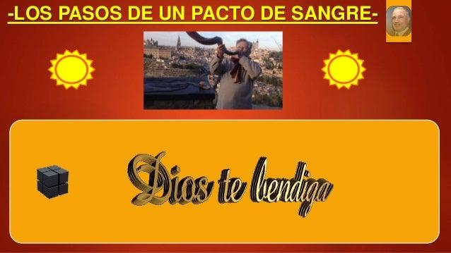 -LOS PASOS DE UN PACTO DE SANGRE-