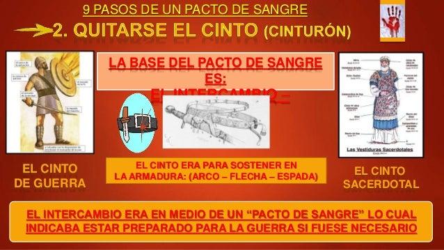 """9 PASOS DE UN PACTO DE SANGRE EL INTERCAMBIO ERA EN MEDIO DE UN """"PACTO DE SANGRE"""" LO CUAL INDICABA ESTAR PREPARADO PARA LA..."""