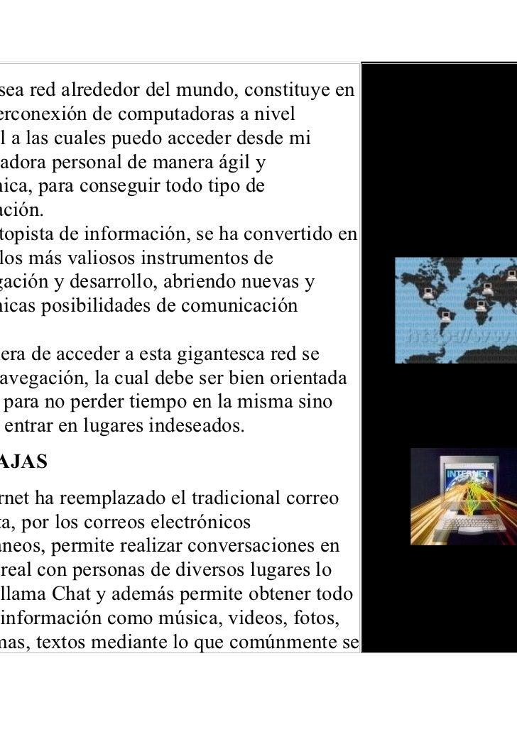 Los peligros del internet Slide 2