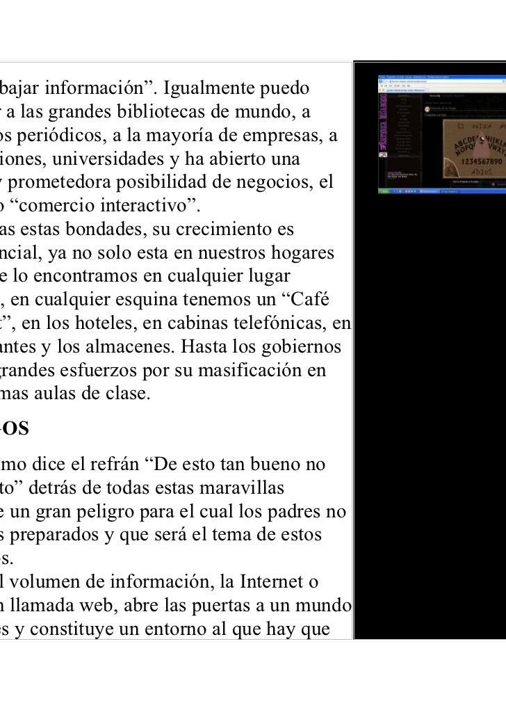 Los peligros del internet Slide 3