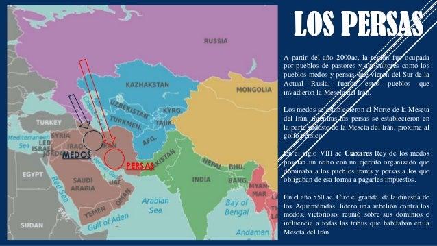 A partir del año 2000ac, la región fue ocupada por pueblos de pastores y agricultores como los pueblos medos y persas, que...