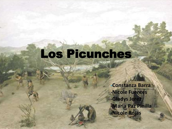 Los Picunches <br />-Constanza Barra<br />-Nicole Fuentes<br />-Gladys Jerez <br />-María Paz Pinilla<br />-Nicole Rojas <...