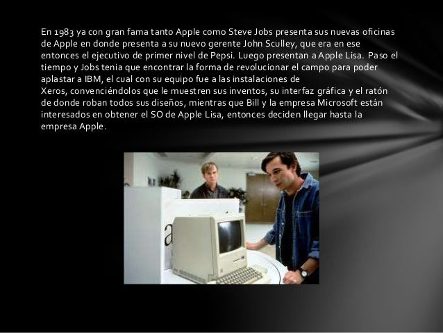 Los piratas de silicon valley - Donde estan las oficinas de apple ...