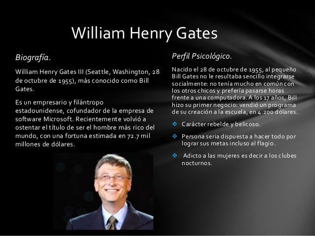 managerial skills of bill gates Essays - largest database of quality sample essays and research papers on management skills of bill gates.