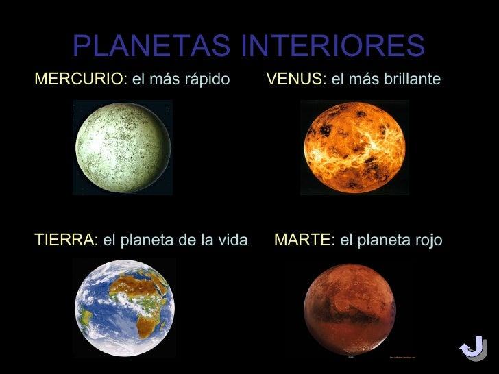 Los Planetas Del Sistema Solar Alicia