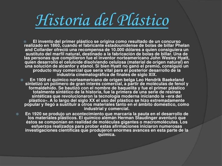 Los plásticos Slide 2