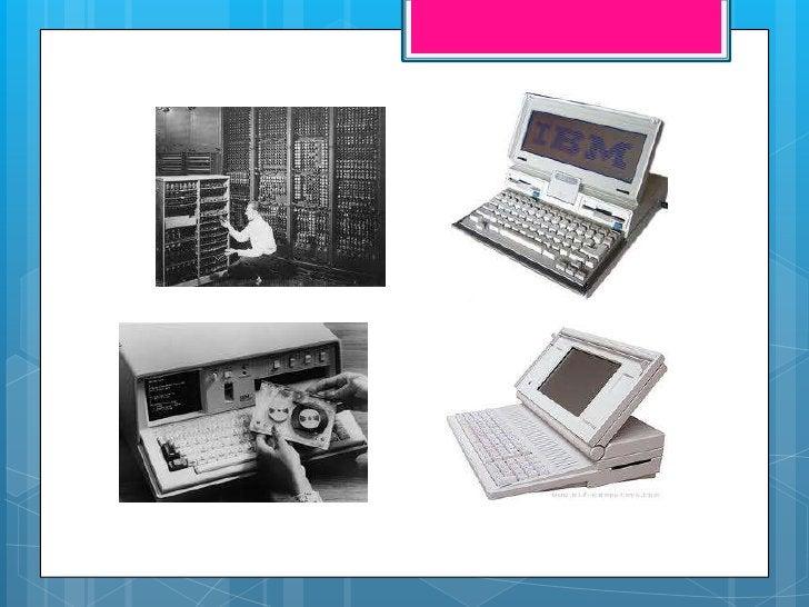  También    se habla sobre las diferencias  del computador normal al  portátil, también hablan sobre los  componentes que...