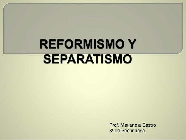 Prof. Marianela Castro 3º de Secundaria.