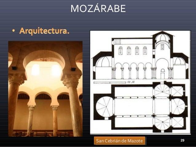 Los primeros reinos cristianos arte for Arquitectura mozarabe