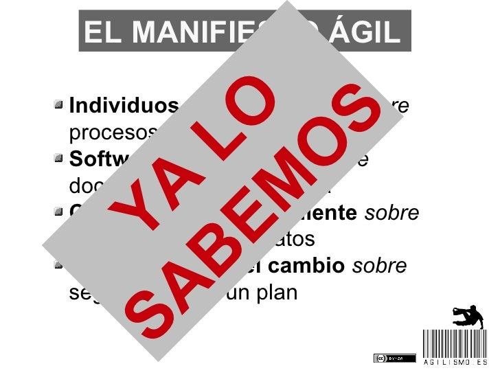 Los principios ágiles (Madrid) Slide 3