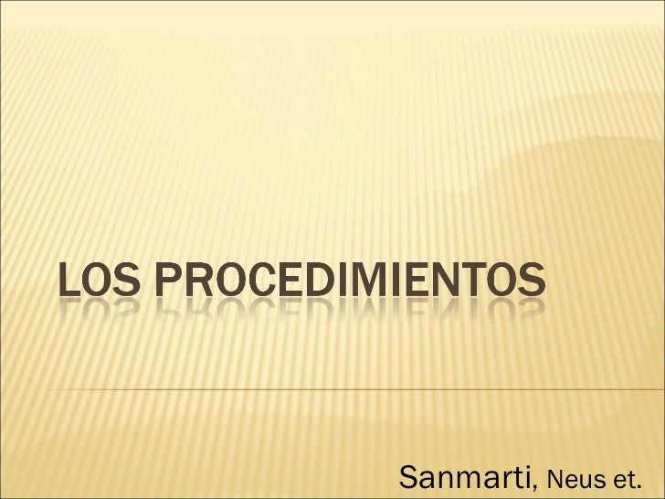 Sanmarti , Neus et.