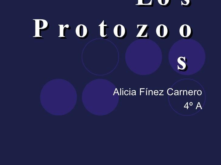 Los Protozoos   Alicia Fínez Carnero 4º A