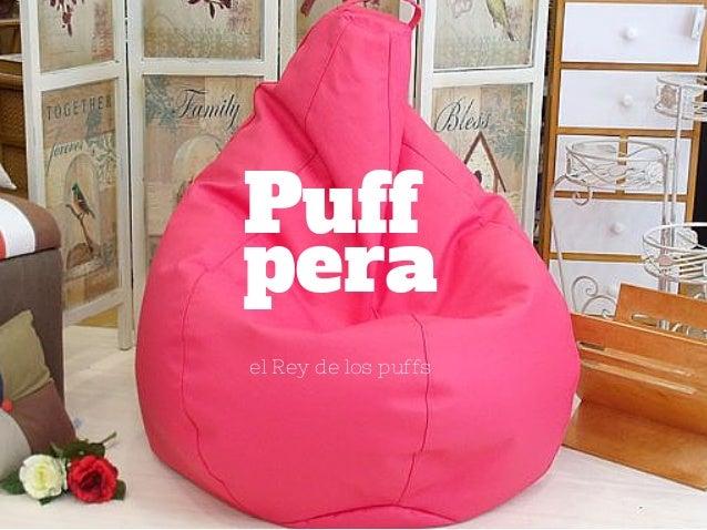 Los puffs blandos de latiendawapa - Como hacer un puff pera ...