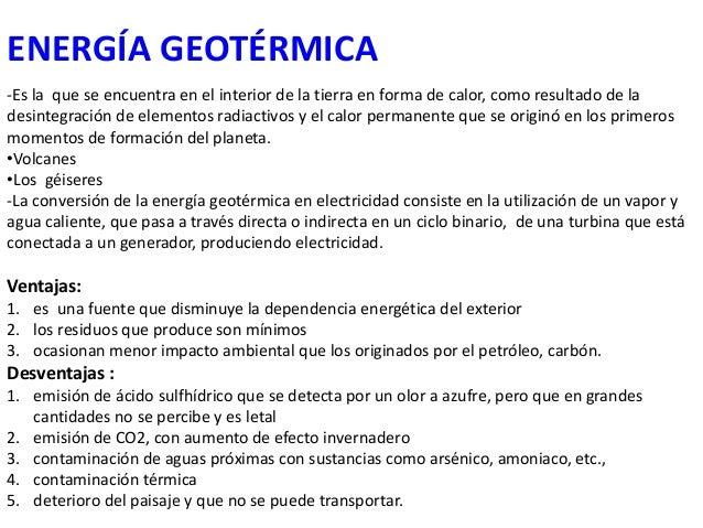 Los recursos naturales - En que consiste la energia geotermica ...