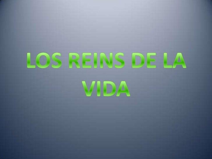 LOS REINS DE LA VIDA<br />