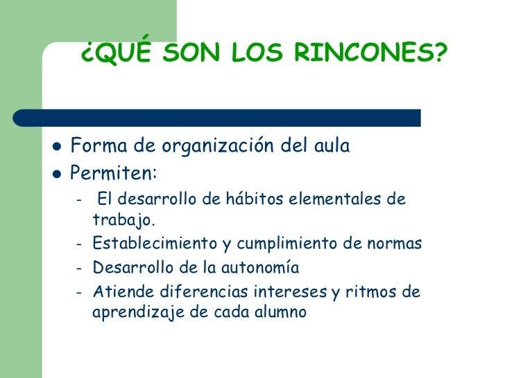 Los Rincones Con Animacion Slide 2