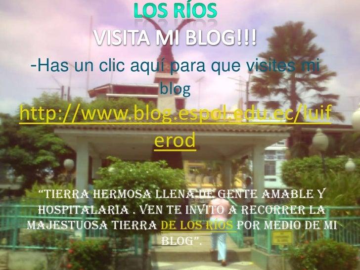Los ríos                                                                      VISITA MI BLOG!!!-Has un clic aquí para que ...