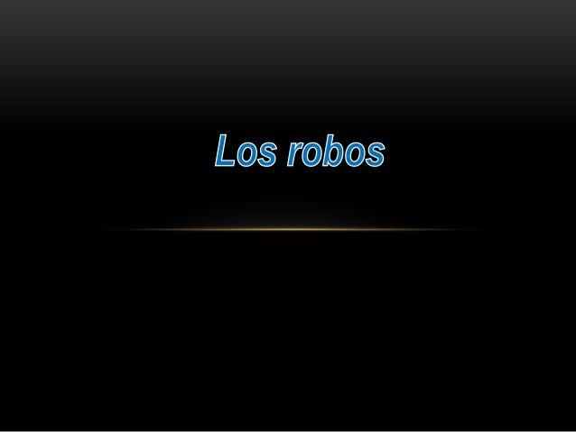 • Un robot es una entidad virtual o mecánica artificial. En la práctica, esto es por lo general un sistema electromecánico...