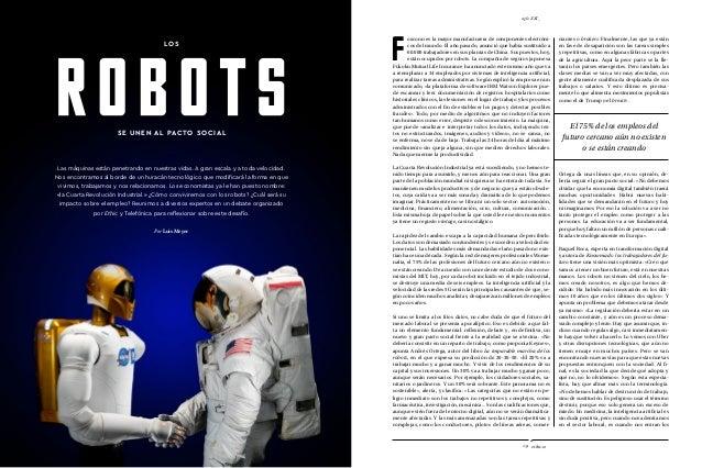 entrevista_ ethic.es20 ethic.es29 siglo XXI_ Las máquinas están penetrando en nuestras vidas. A gran escala y a toda veloc...