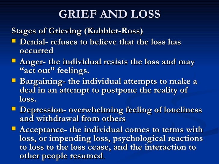 the process of grieving as a destructive human behavior Disruptive behavior procedure  work with your manager and human resources to develop and implement an integrated action plan to address the problem behavior.