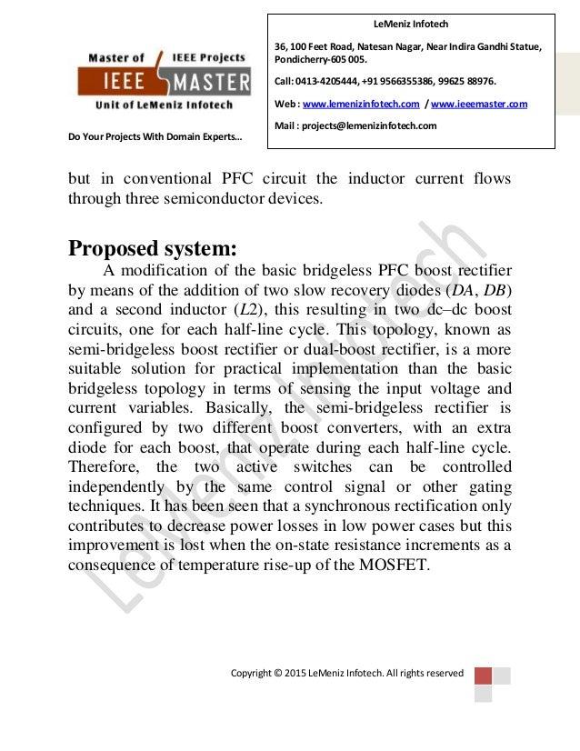 Boost Power Factor Correction Control Circuit Of Dma Controlcircuit