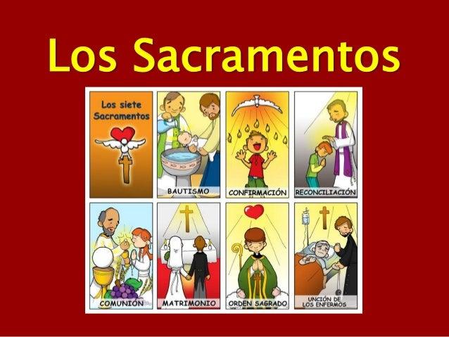 Resultado de imaxes para imagen de los sacramentos