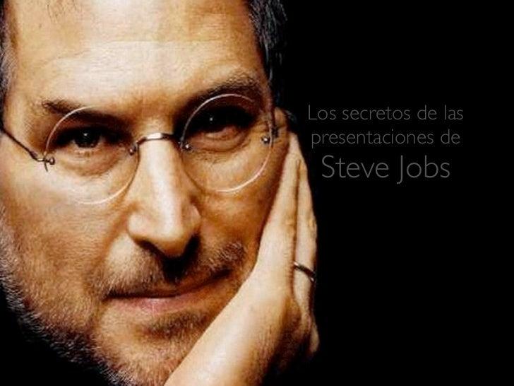 Los secretos de laspresentaciones de Steve Jobs