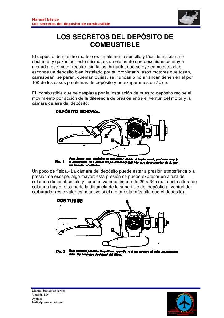 Manual básico Los secretos del deposito de combustible                    LOS SECRETOS DEL DEPÓSITO DE                    ...
