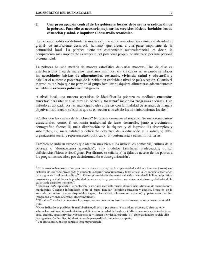 LOS SECRETOS DEL BUEN ALCALDE                                                                                 172.       U...