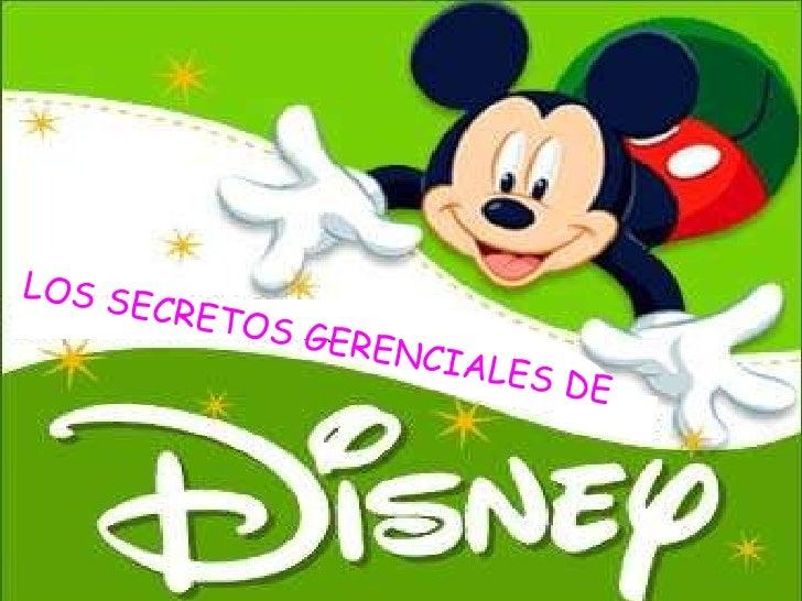 LOS SECRETOS GERENCIALES DE