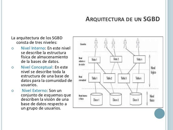 Los Sistemas Gestores De Base De Datos Y Sql Server 2008