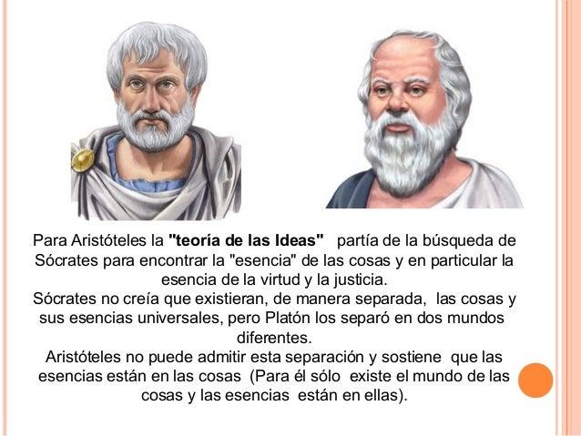 Critica a Platón porque: •Para explicar este mundo, lo duplica y ahora la dificultad está en explicar dos mundos. (El mund...