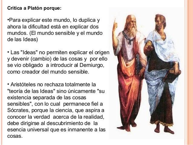 """Metafísica Esta área de la filosofía es definida por Aristóteles, """"Ciencia de los primeros principios y de las primeras ca..."""