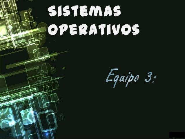 Esquema basico de los sistemas operativos