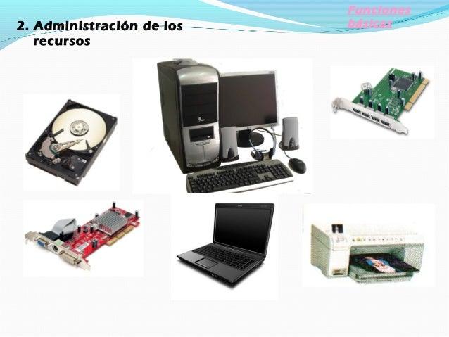 Funciones básicasAdministración de archivos Un sistema de información contiene programas de administración de archivos que...