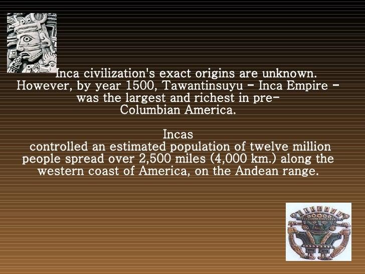 Lost Civilizations Slide 2