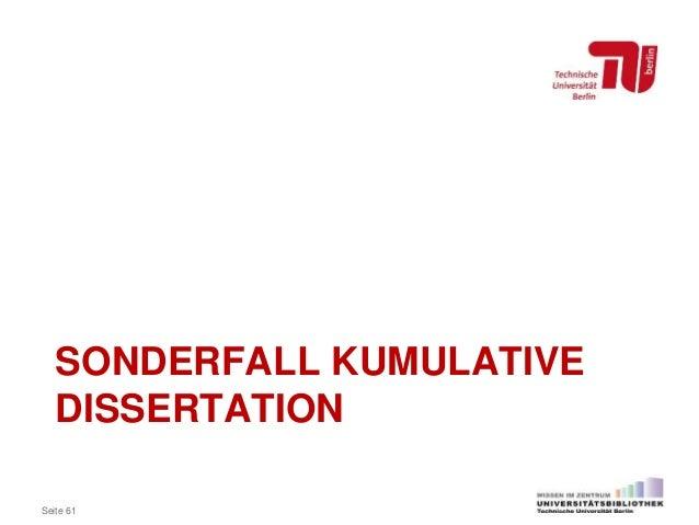 kumulative dissertation medizin lmu Eine kumulative dissertation bezeichnet eine art der dissertation, die zur promotion führt, indem mehrere veröffentlichungen in fachzeitschriften gefordert werden kumulative dissertation an der universität kiel (pdf, 19 kb) kumulative dissertation - doktor auf raten, die zeit, 11.
