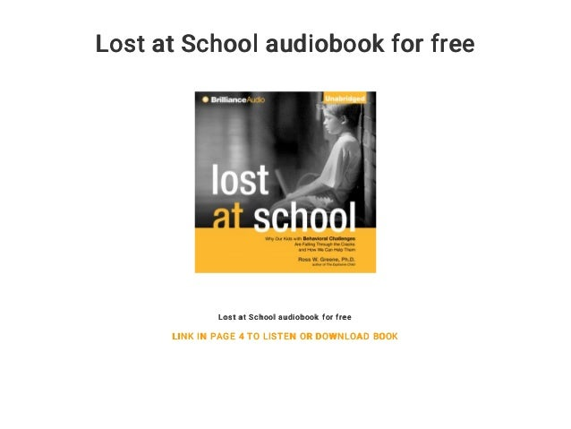 Lost at School audiobook for free