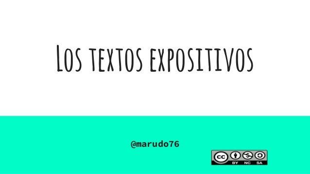Lostextosexpositivos @marudo76