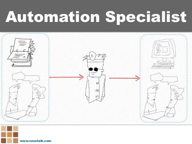 www.casetalk.com Automation Specialist