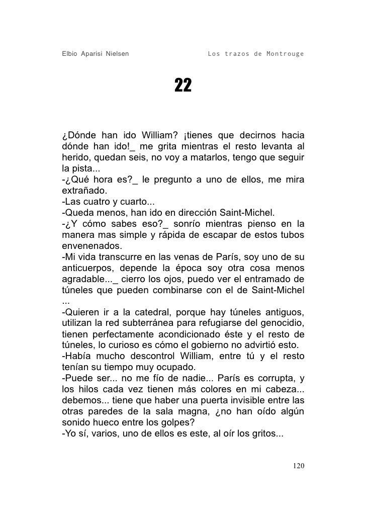 Los Trazos De Montrouge.