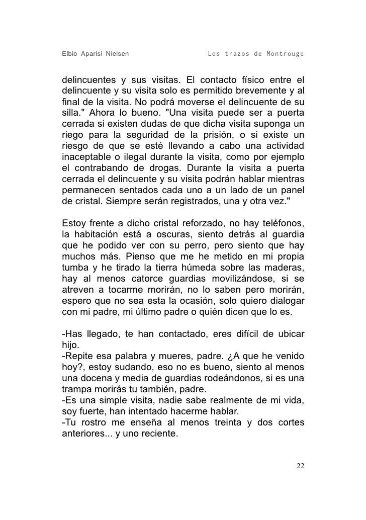Elbio Aparisi Nielsen             Los trazos de Montrouge   delincuentes y sus visitas. El contacto físico entre el delinc...