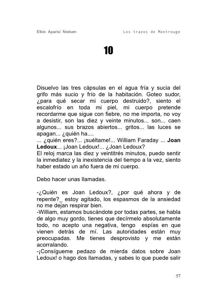 Elbio Aparisi Nielsen              Los trazos de Montrouge                                10   Disuelvo las tres cápsulas ...